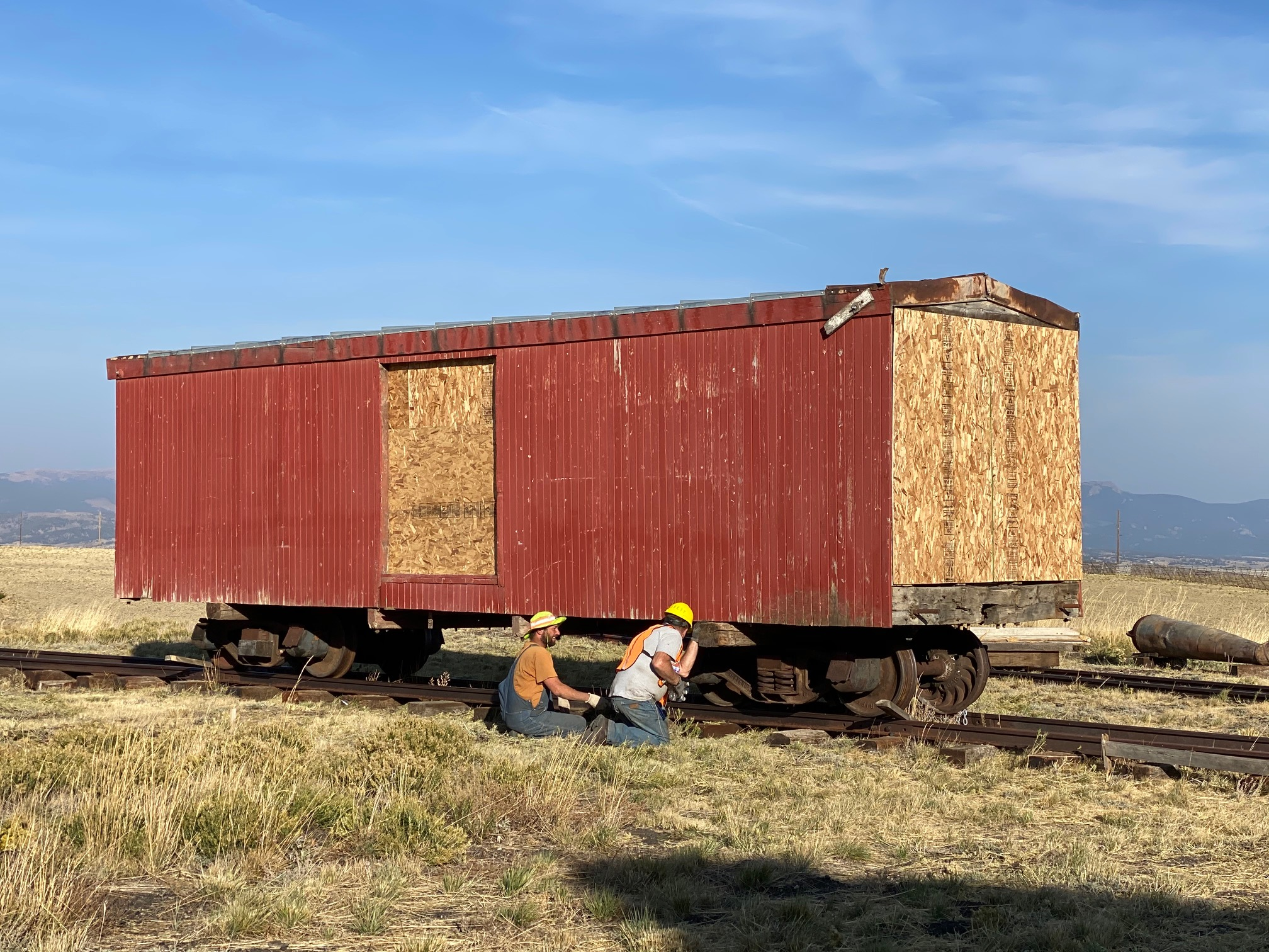 Como Boxcar 8179, Photo by Bob Schoppe